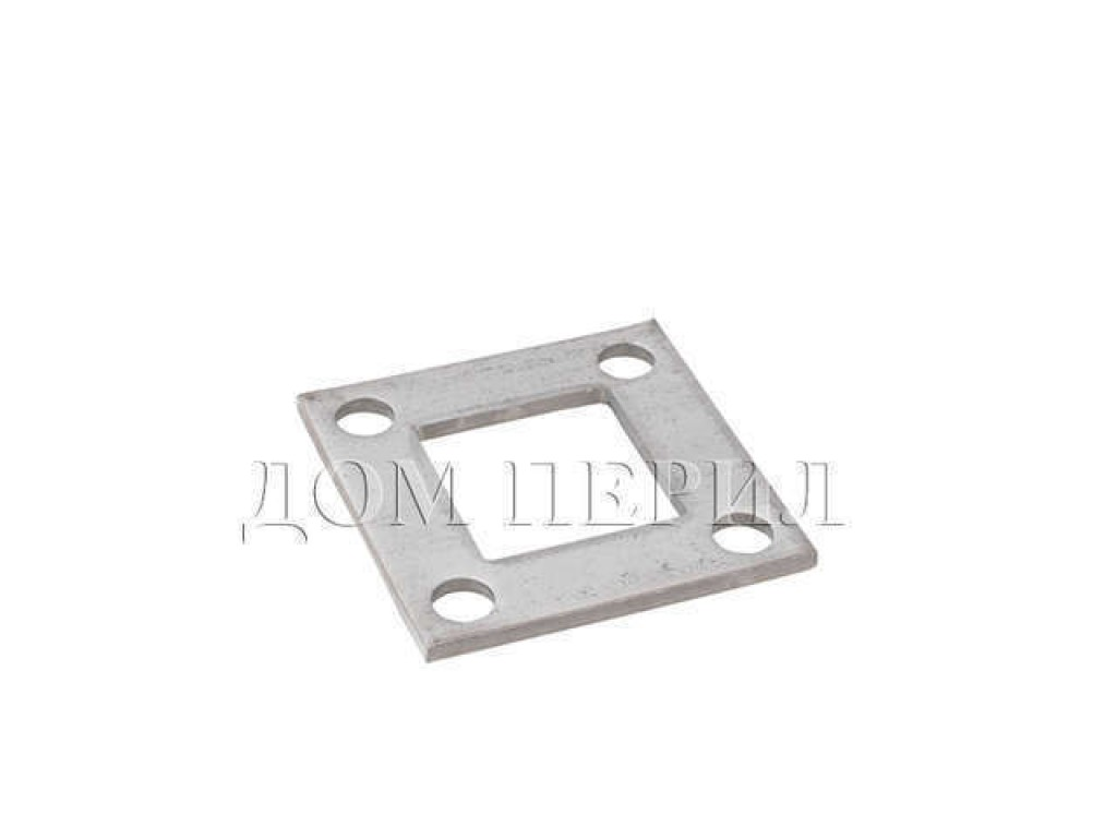 Фланец стальной сварной s=4 мм для трубы 40х40 мм