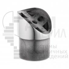 Ложемент 28⁰ для стойки Ø 38 мм и под поручень Ø 50,8 мм