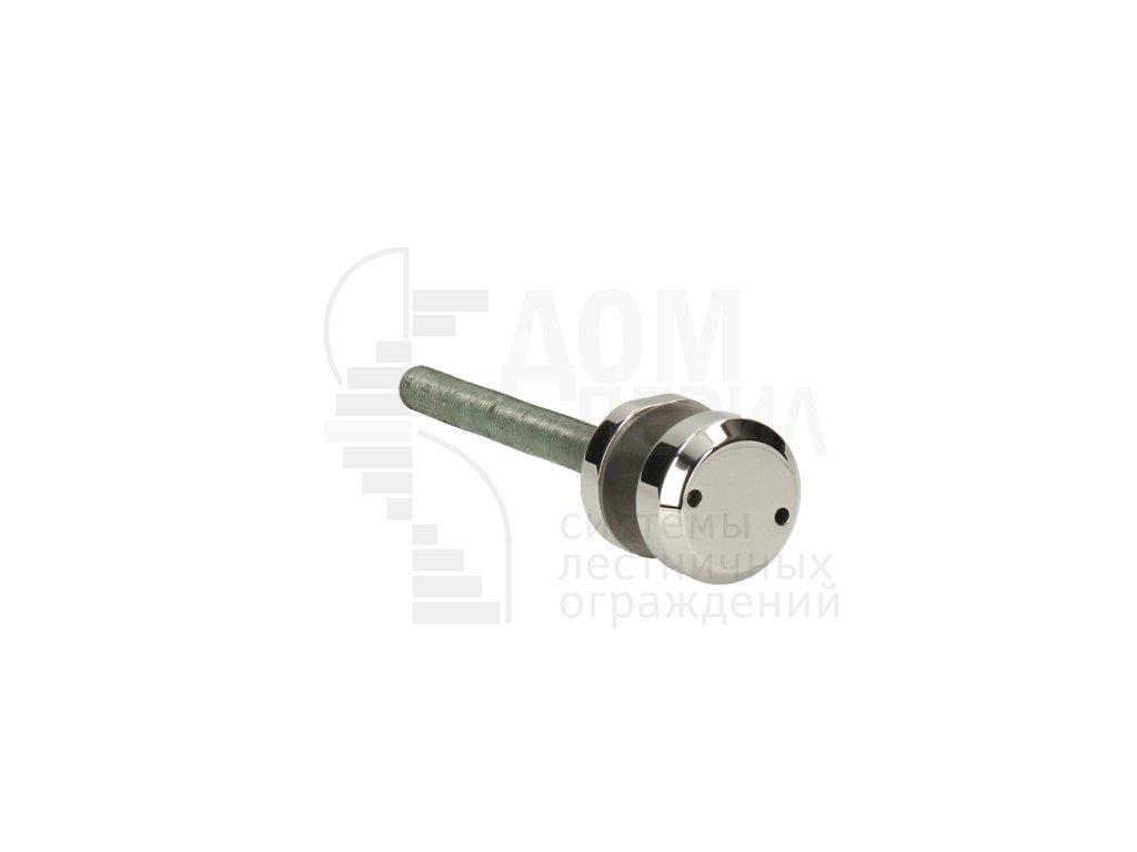 Стеклодержатель точечный удлиненный под стекло, диаметр 50 мм (AISI 201)