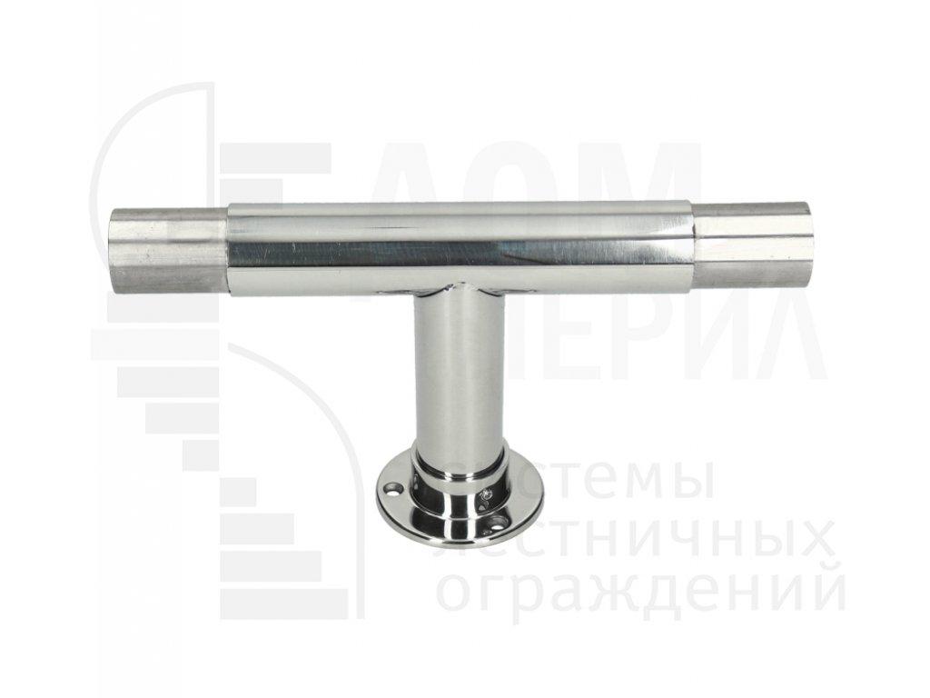 Стойка отбойника промежуточная прямая под трубу Ø 38 мм