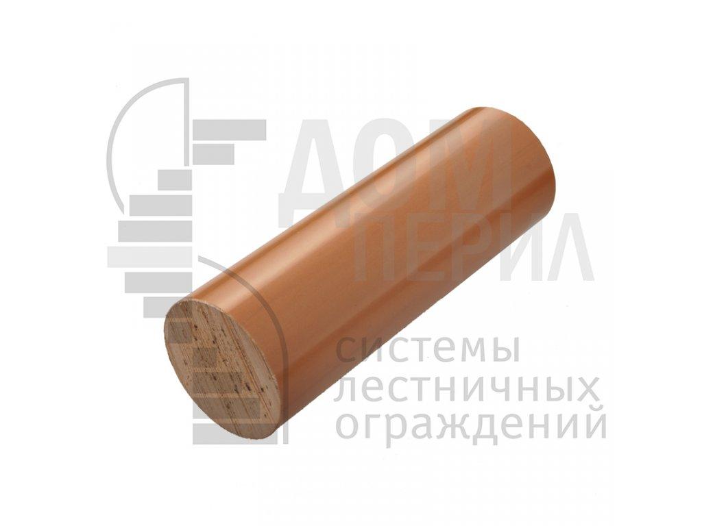 Поручень пластиковый из ПВХ (цвет орех) - 1 п.м.