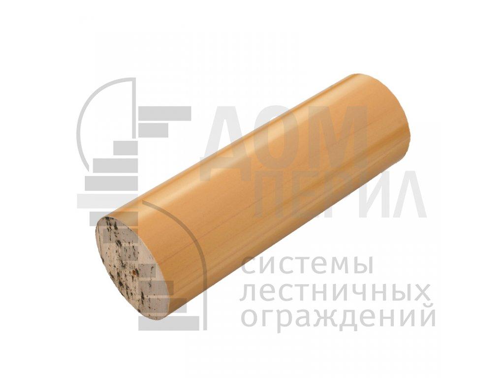 Поручень пластиковый из ПВХ (цвет светлый дуб) - 1 п.м.