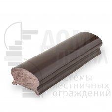 Поручень ПВХ фигурный (цвет Венге) - 1 п.м.