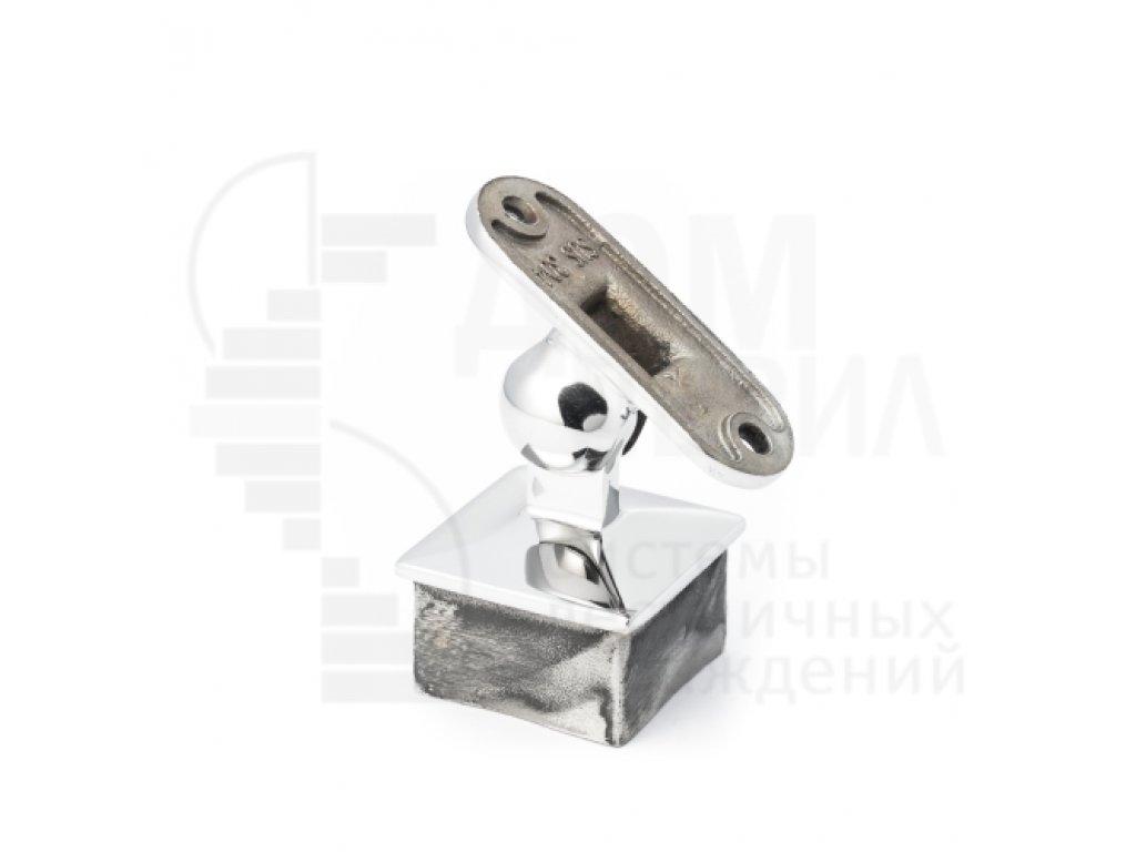 Кронштейн поручня для трубы 40х40 мм под плоскость
