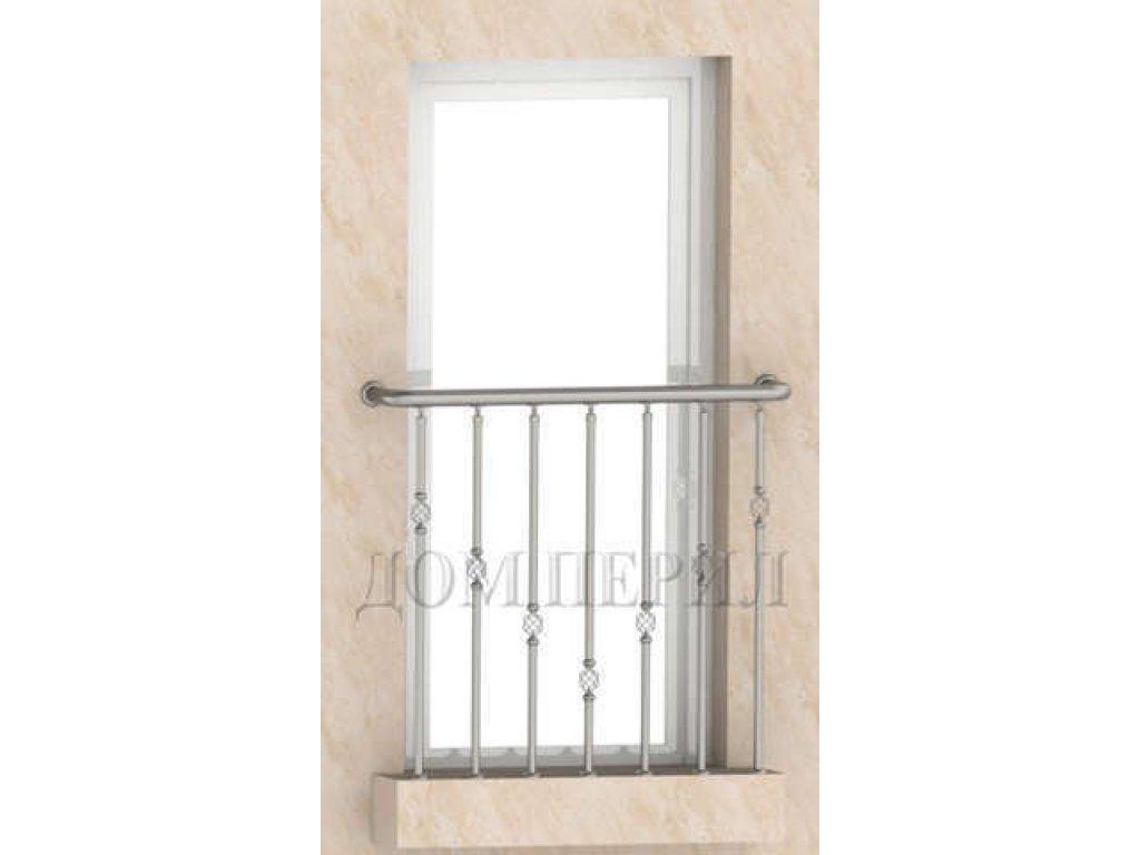 Ограждение французского балкона