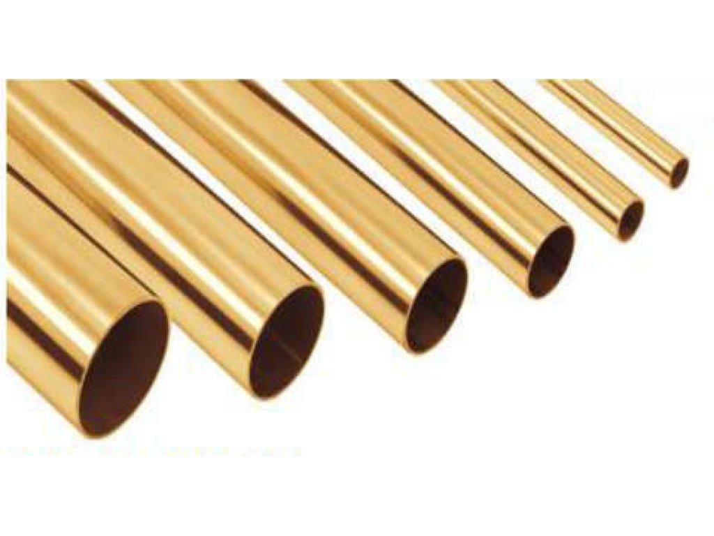 Поручень ∅38 мм х 1,5 мм AISI 304 (1,65 м) (под золото)