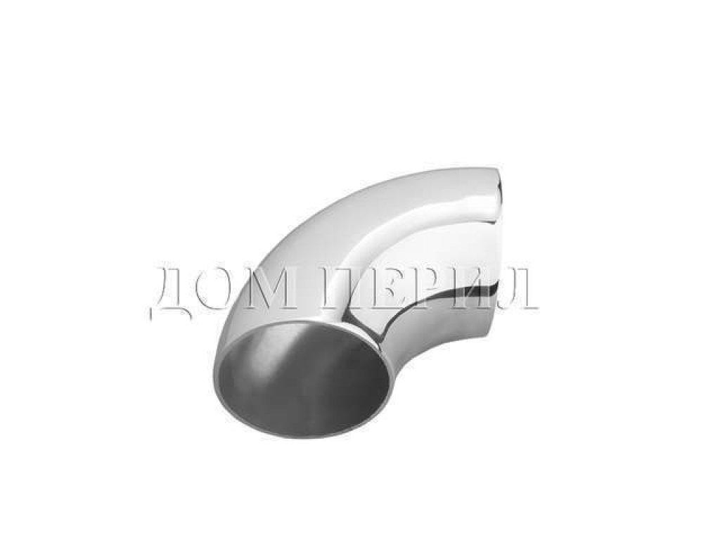 Отвод нержавеющий сварной для трубы ∅42 мм