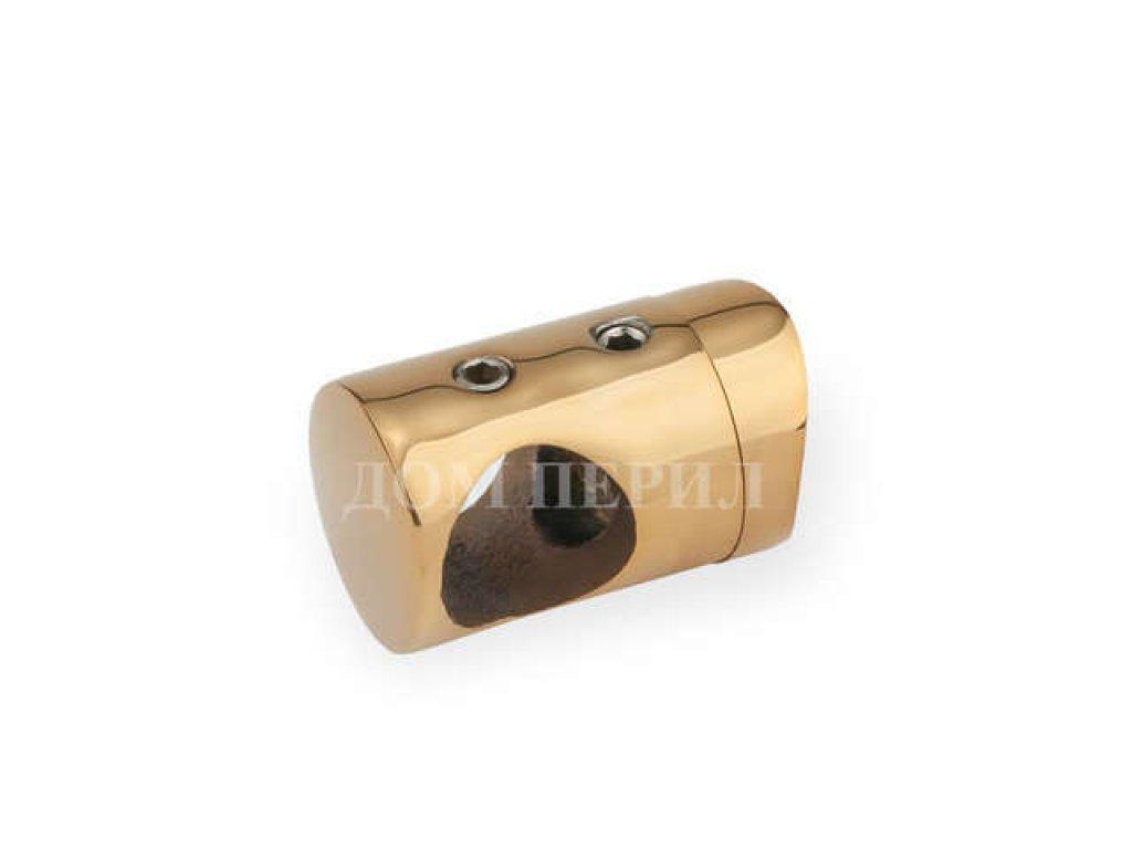 Держатель для ригеля ∅16 мм и стойки ∅38 мм (под золото)