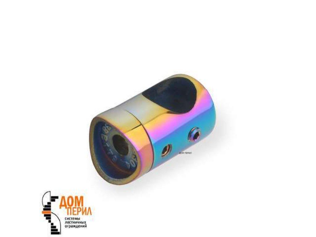 Держатель для ригеля ∅16 мм и стойки ∅38 мм (цветной перламутр)