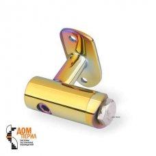 Кронштейн боковой с ложементом для стойки ∅38 мм и под поручень ∅50,8 мм (цветной перламутр) арт.КП 11