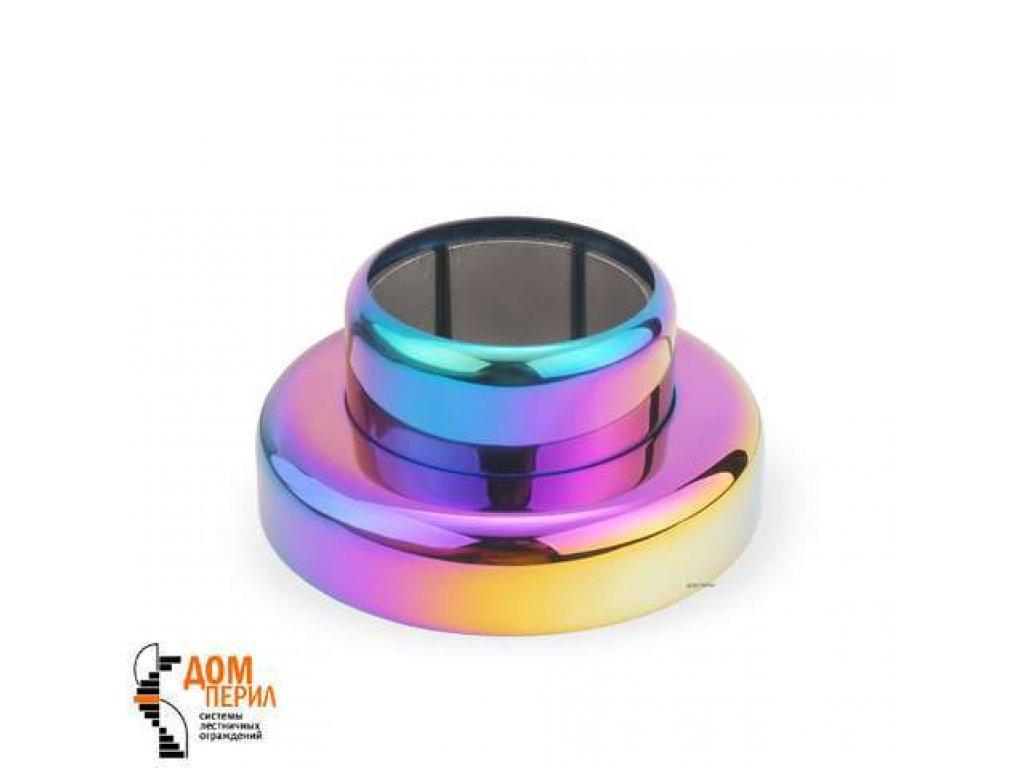Фланец цанговый для поручня ∅ 50,8 мм (цветной перламутр)