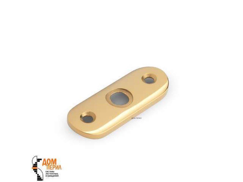 Лодочка под поручень ∅50,8 мм (под золото)
