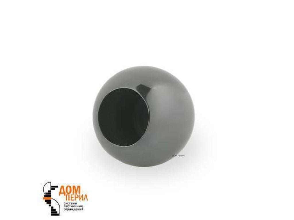 "Заглушка ""Шар"" для ригеля ∅12 мм (черный хром)"