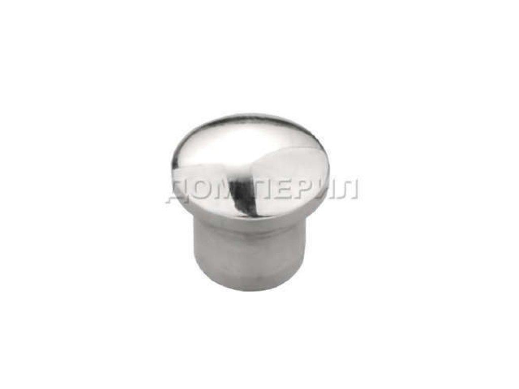 Заглушка плоская для трубы ∅12 мм