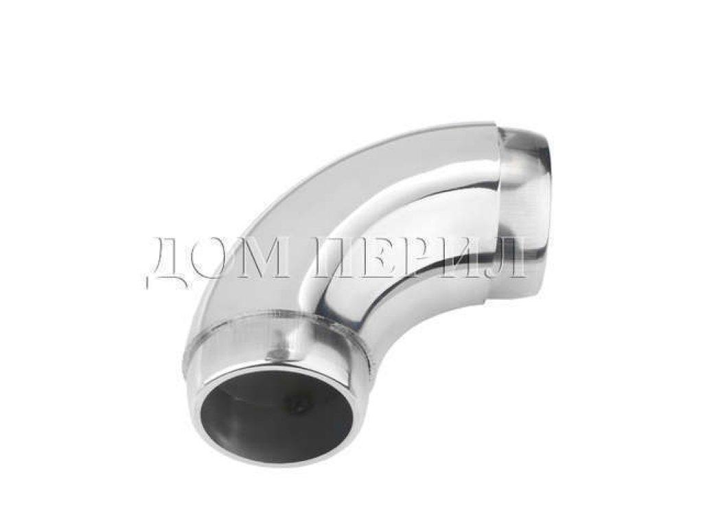 Отвод нержавеющий под сборку для трубы ∅50,8 мм