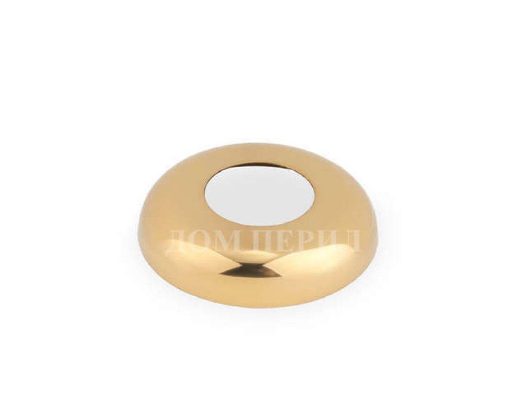 Крышка малая под поручень ∅25 мм (под золото)
