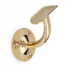 Пристенный кронштейн под поручень ∅50,8 мм (под золото)