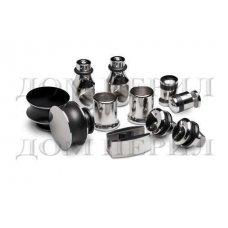 Комплект для стеклянной раздвижной перегородки под 25-ую трубу арт.MT-080