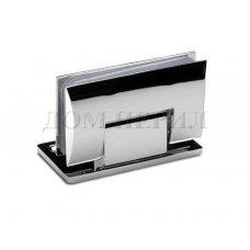 Петля 90 гр. стекло-стена односторонняя хром арт.MT-211/S cp