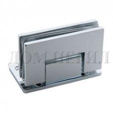 Петля 90 гр. стекло-стена односторонняя хром арт.MT-221/S cp