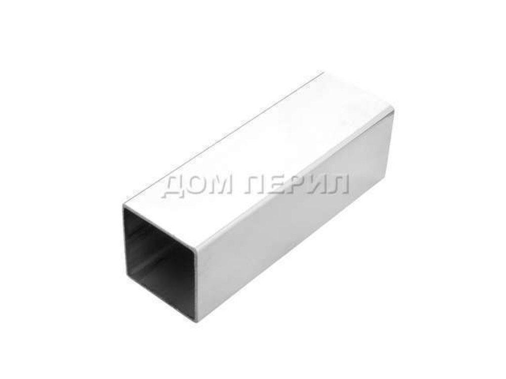 Труба квадратная из нержавеющей стали (нержавейки) 40х40х1,5 мм AISI 304 (1 метр)