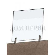 Цельностеклянные ограждения на несущем стекле 36