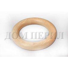 Кольцо поворот. Внутренний диаметр - 100 мм. Наружный диаметр - 200 мм (бук)
