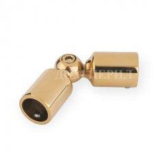 Шарнир ригеля ∅16 мм (под золото)