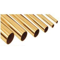 Труба ∅12 мм х 1,5 мм AISI 304 (1,65 метр) (под золото)