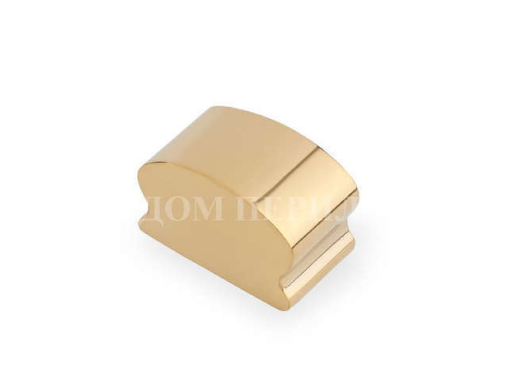 Заглушка для пластикового фигурного поручня (под золото)